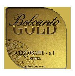 Thomastik Belcanto Gold 4/4 Cello String Set - Medium Gauge